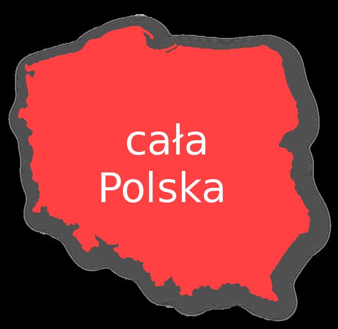 cala polska